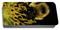 Portable Battery Charger featuring the photograph Pollen Collector 2 by Jay Stockhaus