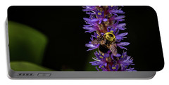 Portable Battery Charger featuring the photograph Pollen Collector 3 by Jay Stockhaus