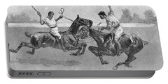 Polo Players Portable Battery Charger