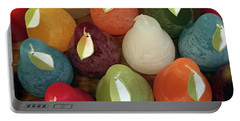 Polychromatic Pears Portable Battery Charger