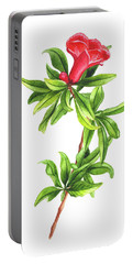 Pomegranate Flower Portable Battery Charger