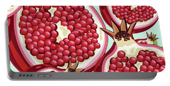 Pomegranate   Portable Battery Charger