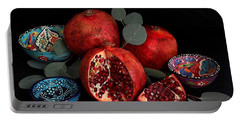 Pomegranate Power Portable Battery Charger