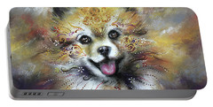 Pomeranian Portable Battery Charger