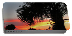 Ponce Inlet Florida Sunset Portable Battery Charger