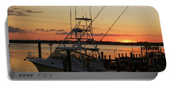 Ponce Inlet Sunset Portable Battery Charger
