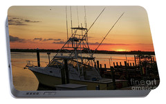 Portable Battery Charger featuring the photograph Ponce Inlet Sunset by Paul Mashburn