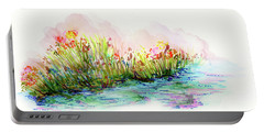 Sunrise Pond Portable Battery Charger