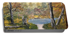 Pond In The Woods Portable Battery Charger