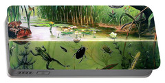 Pond Life Portable Battery Charger