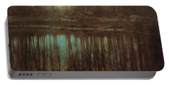 Pond Moonlight Portable Battery Charger by Edward Steichen