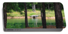 Pond Side Dock Portable Battery Charger