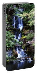 Pond Waterfall Portable Battery Charger