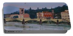 Pont Vecchio Landscape Portable Battery Charger