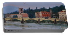 Ponte Vecchio Landscape Portable Battery Charger