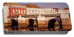 Ponte Romana And River Gilao- Tavira Portable Battery Charger