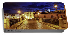 Ponte Romana At Blue Hour / Tavira, Portugal Portable Battery Charger