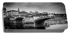 Portable Battery Charger featuring the photograph Ponte Santa Trinita by Sonny Marcyan