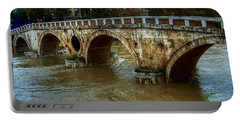 Ponte Sisto Bridge Rome Portable Battery Charger