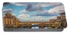 Ponte Vecchio Clouds Portable Battery Charger