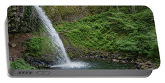Portable Battery Charger featuring the photograph Ponytail Falls by Greg Nyquist
