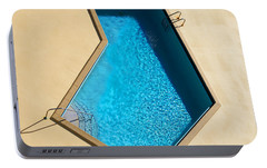 Pool Modern Portable Battery Charger by Laura Fasulo