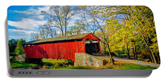 Poole Forge Covered Bridge Portable Battery Charger