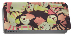 Pop Art Clown Circus Portable Battery Charger by Jorgo Photography - Wall Art Gallery
