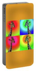 Pop Art Giraffe Portable Battery Charger