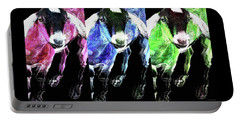 Pop Art Goats Trio - Sharon Cummings Portable Battery Charger