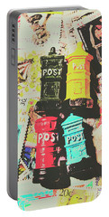 Pop Art In Post Portable Battery Charger