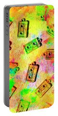 Pop Art Mix Tapes Portable Battery Charger