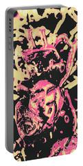 Pop Art Poster Heart Portable Battery Charger