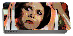 Pop Art Princess Leia Organa Portable Battery Charger