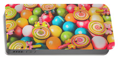 Pop Art Sweets Portable Battery Charger