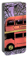 Pop Art Uk Portable Battery Charger