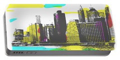 Pop City Skyline Portable Battery Charger