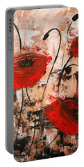 Pop Goes The Poppies Portable Battery Charger