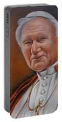 Pope John Paul Portable Battery Charger