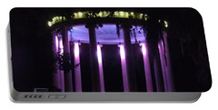 Popp Bandstand New Orleans City Park Portable Battery Charger by Deborah Lacoste