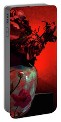 Poppies And Roses Portable Battery Charger