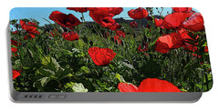 Poppies. Portable Battery Charger