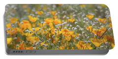 Portable Battery Charger featuring the photograph Poppies Fields Forever  by Saija Lehtonen