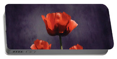 Poppies Fun 01b Portable Battery Charger