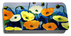 Poppies In Colour Portable Battery Charger
