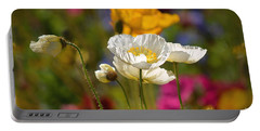 Poppies In The Spring Portable Battery Charger