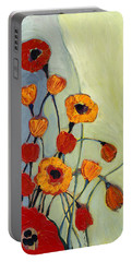 Poppies Portable Battery Charger