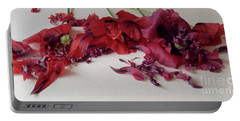 Poppies Petals Portable Battery Charger