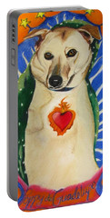 Poppy De Guadelupe Portable Battery Charger