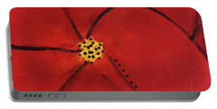 Poppy Dots Portable Battery Charger
